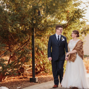 Kristen and Aaron's Simple and Sweet Morton Wedding